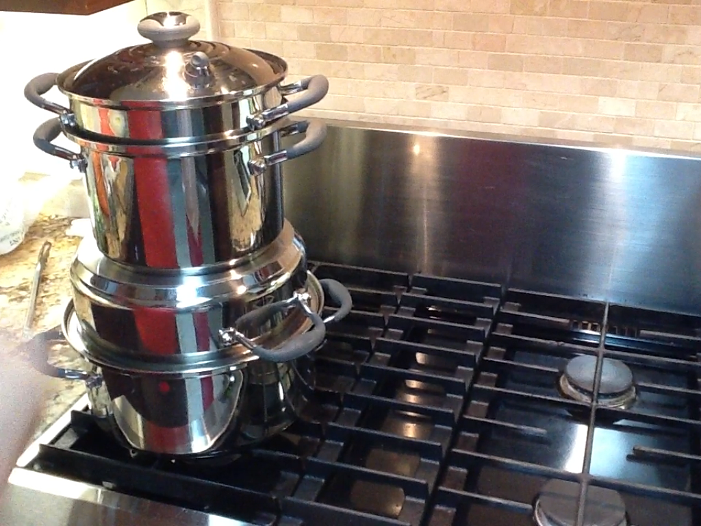 stack cooking in kitchen charm cookware review